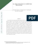 Quasinormal Quantization in DeSitter Spacetime