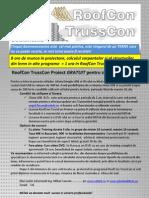 Oferta RoofCon TrussCon Pentru Studenti 2012