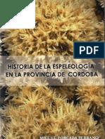 2013 Libro Espeleo Córdoba Miguel Forcada