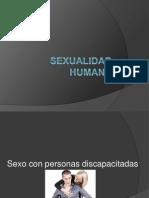 Sexo y Discapacidad
