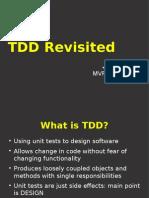 TDD Revisited