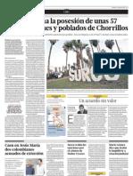 Surco reclama la posesión de zona residencial de Chorrillos