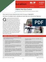 Gun Control Educator Guide