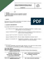 NBR 5670 NB 577 - Selecao e Contratacao de Servicos e Obras de Engenharia e Arquitetura de Natureza Privada
