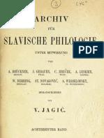 Archiv für slavische Philologie 18