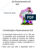 Resumo Do Financiamento Do SUS