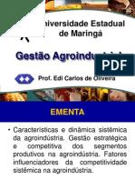 gestão agroindustrial