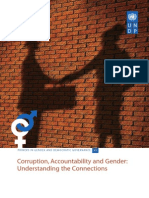 Corruption, Accountability and Gender:
