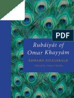 Poetry of  Omar Khayyam