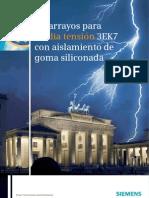 Catalogo Pararrayos Siemens 3ek7