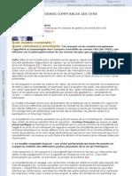 Les Normes Comptables IASIFRS Quel Modele Comptable Quels Utilisateurs Privilegies Revue Ouverture Experts Comptables de France n 53 Juin 2003 Pp. 33-35