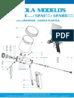 Pistolas Grav Modelo12plastico