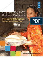 Empowering Lives, Building Resilience - Vol 1 - September 2011