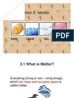 form 1 science chapter 3 Matter