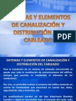 Tema 04 - Sistemas y Elementos de Canalización y Distribución del Cableado