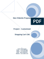 Project Proposal ShoppingCart