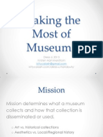 Making the Most of Museums