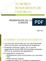 Tumores Neuroendcrinos de Pancreas