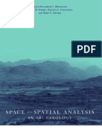 Space and Spatial Analysis in Archaeology