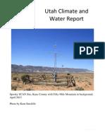 Utah Climate and Water Report, June 2013
