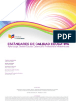 10. Estandares de Calidad Educativa