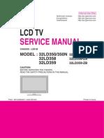LG 32LD350_32LD358_32LD359 LCD TV SM