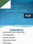 PWS -Time Study by-Amit Singh