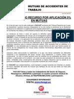 Comunicado - Resolución Tribunal Supremo Recorte MATEPSS 20130606