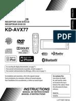 Jvc Kd-Avx77 Manual