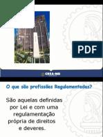 APRESENTAÇÃO INSTITUCIONAL DO CREA-MG