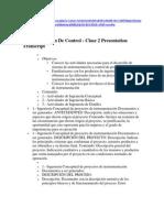 INSTRUMENTACIÓN DE CONTROL