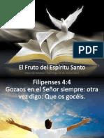 El Fruto del Espíritu Santo - GOZO