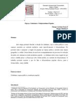 Template UFG - UFRJ - Espaço, Cidadania e Telejornalismo Popular