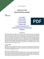 Introducción a XML (Extensible Markup Language)