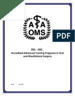 AAOMS Residency Program List