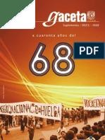 Gaceta UNAM - A cuarenta años del 68