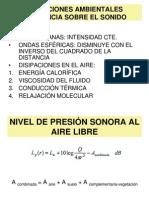 Atenuacion Sonora