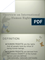 Overview on International Human Rights