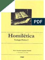 Apostila de Homiletica - Pr.ricador a. Arakaki