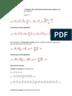 La varianza es la media aritmética del cuadrado de las desviaciones respecto a la media de una distribución estadística
