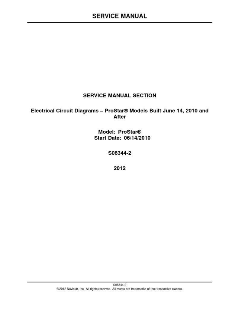 Navistar Wiring Schematic Def on