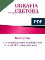 Urografia Excretora Examen Radiologico