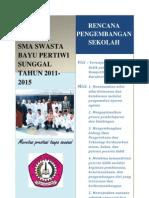 Rencana Pengembangan Sekolah Bayu Pertiwi 2011-2015