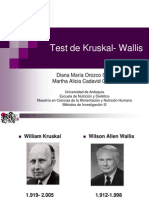 Test de Kruskal- Wallis 1