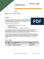 CS Application Note Installation Rev 1.2