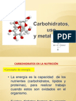 Clase 3 Carbohidratos- 2013