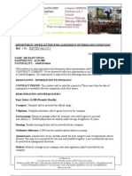 Falcon Apiontment Offer Letter