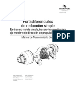 Manual Diferenciales Traseros Simples RT-40-145P