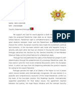 Country Statement Portugal