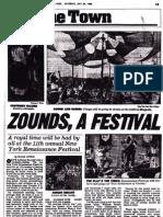 Zounds, a Festival (11th Annual New York Renaissance Faire)